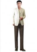 男性职业装西服订制的服装厂
